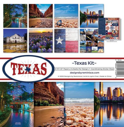 Reminisce Texas Kit Paper Pack