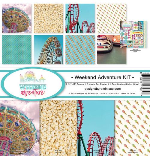 Reminisce Weekend Adventure Kit Paper Pack