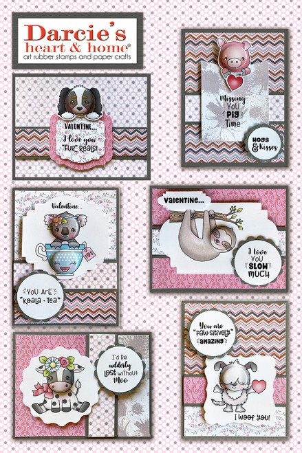 Darcie's Heart & Home Valentines Card Kit