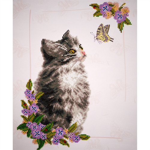 Diamond Dotz Curious Kitten