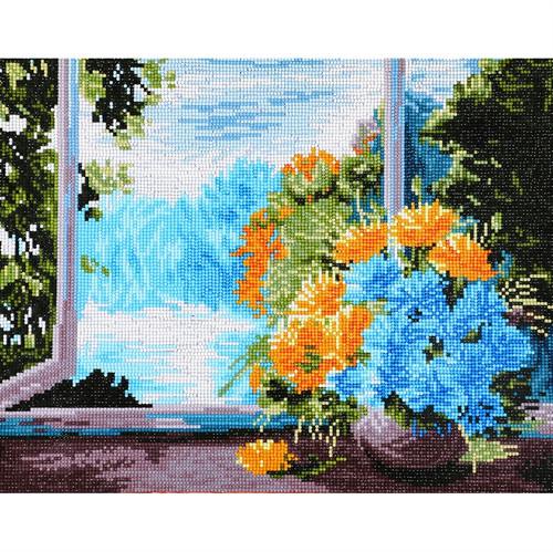 Diamond Dotz Floral Serenity