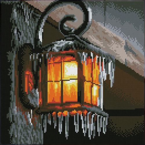 Diamond Dotz SQUARES Frosty Light