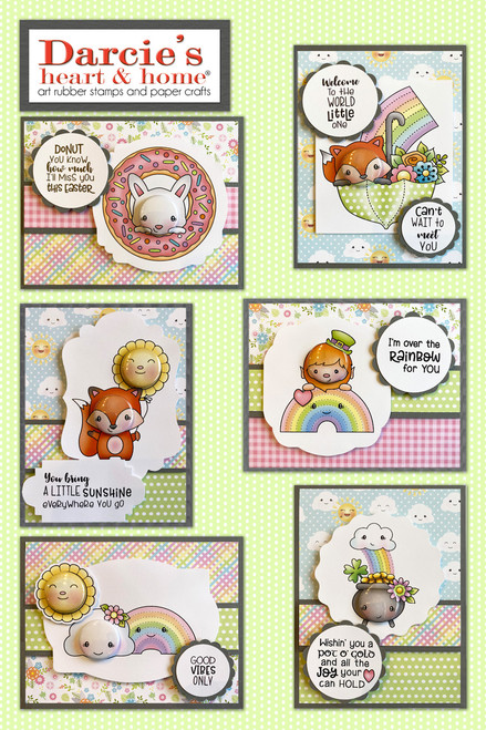 Darcie's Heart & Home Spring Card Kit