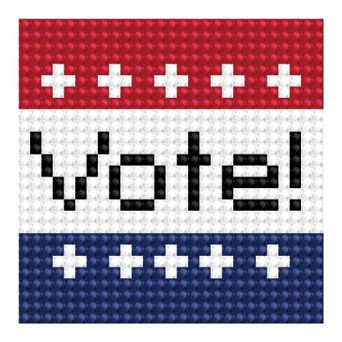 Diamond Dotz Vote! Sticker Pack
