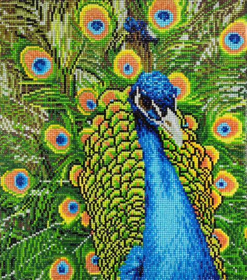 Diamond Art Diamond Dotz Peacock