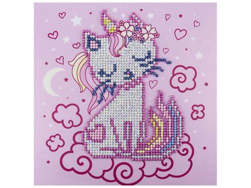 Diamond Art Diamond Dotz Sparkle Uni-Kitty