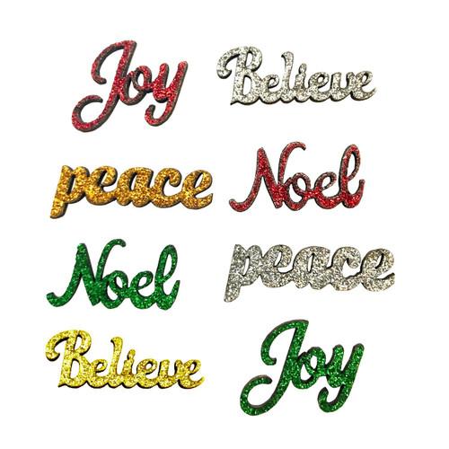 Buttons Galore Sparkling Sentiments Noel