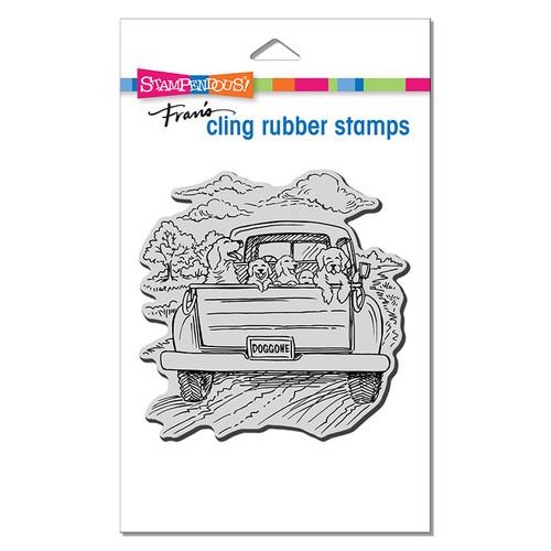 Stampendous Dog Gone Rubber Stamp