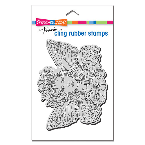 Stampendous Fairy Wings Rubber Stamp