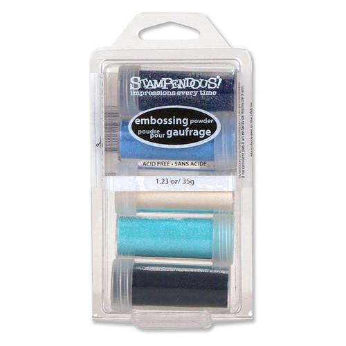 Stampendous Submerge 5 Jar Embossing Powder Kit