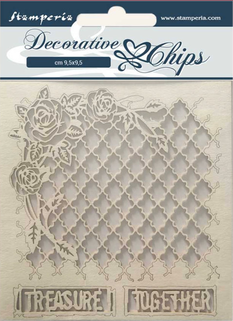 Stamperia Decorative Chips - Treasure Together