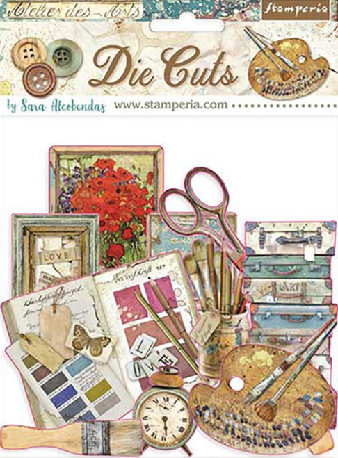 Stamperia Die Cuts Atelier Des Arts