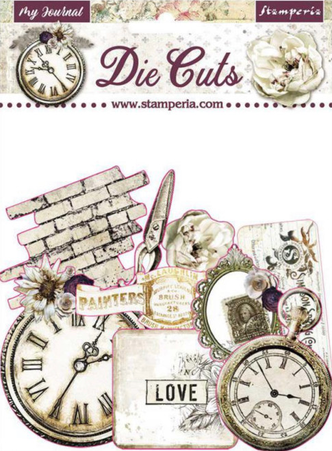 Stamperia Die Cuts Journal