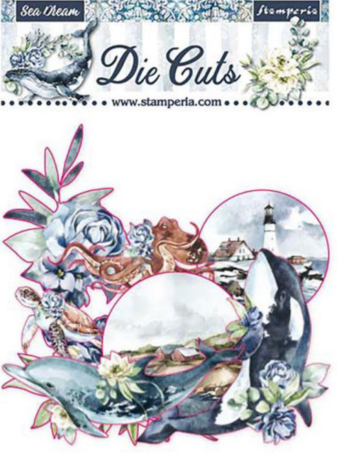 Stamperia Die Cuts Sea Dream