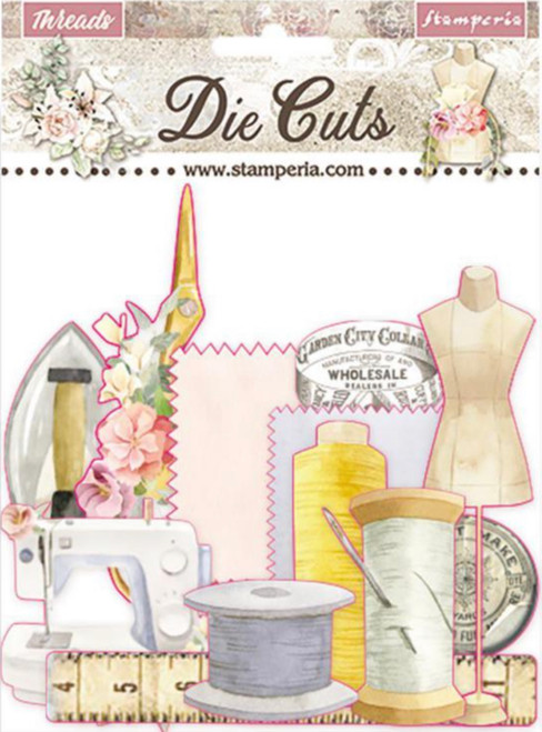 Stamperia Die Cuts Threads