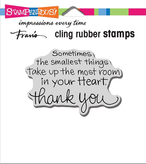 Stampendous Smallest Things Rubber Stamp
