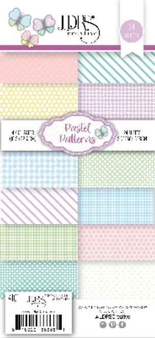 """LDRS Pastel Patterns 4"""" x 9"""" Paper Pack"""