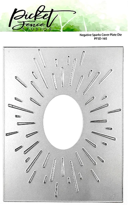 Picket Fence Studios Negative Sparks Cover Plate Die
