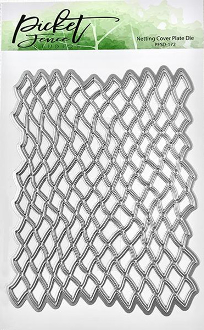 Picket Fence Studios Netting Cover Plate Die