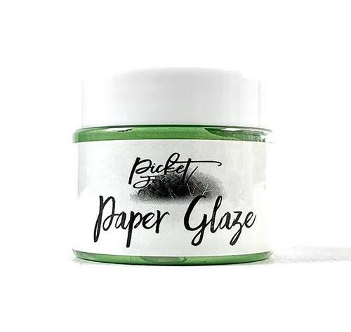 Picket Fence Studios Paper Glaze Lime Zinnia