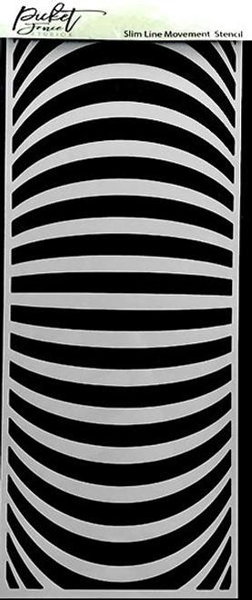 Picket Fence Studios Slim Line Movement Stencil