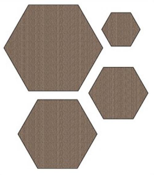 Darcie's Heart & Home Charming Cuts Hexagon Die Set