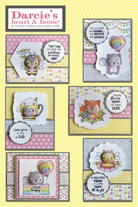 Darcie's Heart & Home March Bee-lieve Card Kit