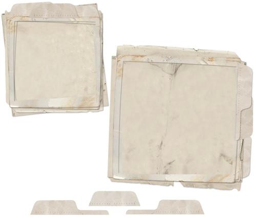 49 & Market Square File Frame Set Vintage Artistry Essentials