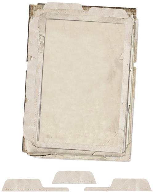 49 & Market 4x6 File Frame Set Vintage Artistry Essentials