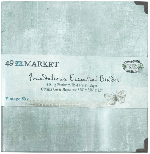 49 & Market Foundations Essential Binder - Vintage Sky