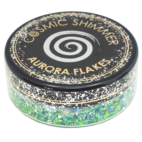 Creative Expressions Cosmic Shimmer Aurora Flakes Icy Lagoon