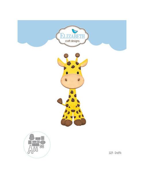 Elizabeth Craft Metal Die Giraffe