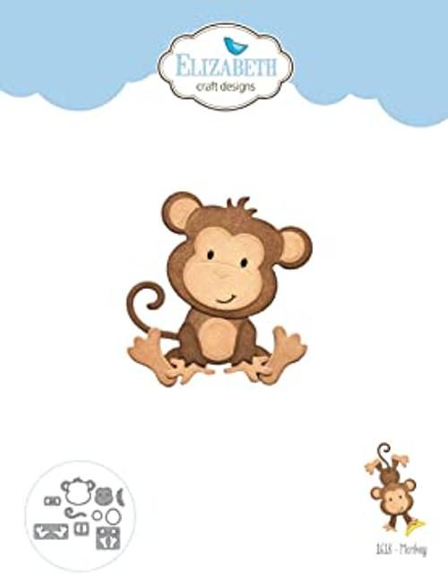 Elizabeth Craft Metal Die Monkey