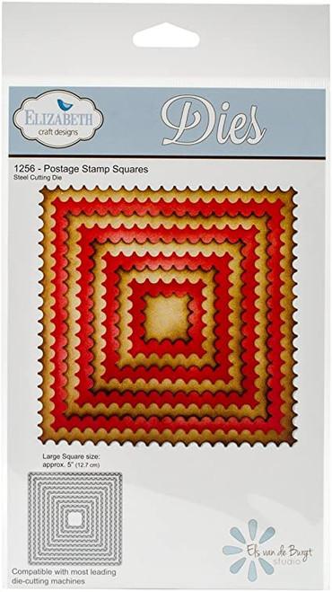 Elizabeth Craft Metal Die Postage Stamp Squares