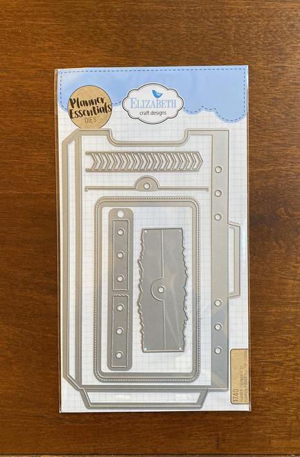 Elizabeth Craft Planner Essentials  22 Planner Pocket 3 Top Loading Die Set