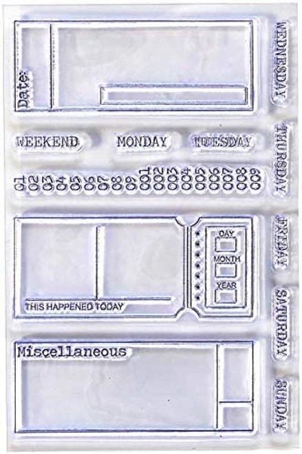 Elizabeth Craft Planner Essentials Sidekick Stamps 2
