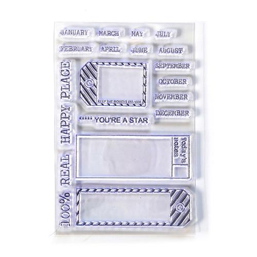 Elizabeth Craft Planner Essentials Sidekick Stamps 1