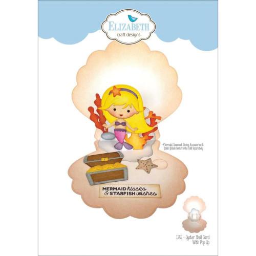 Elizabeth Craft Metal Die Oyster Shell Pop Up Card