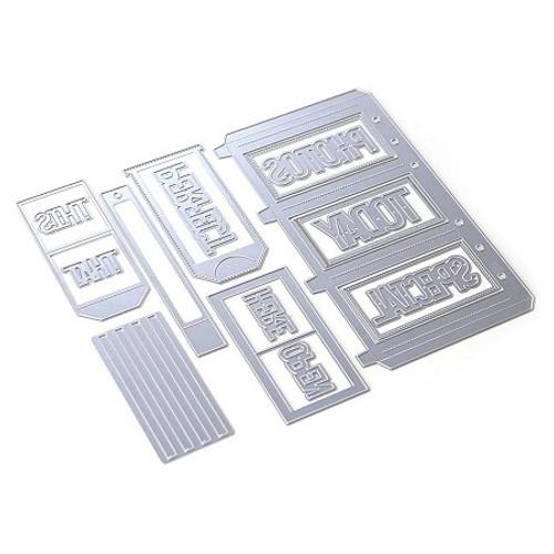 Elizabeth Craft Planner Essentials 31 Slider Pockets Die Set