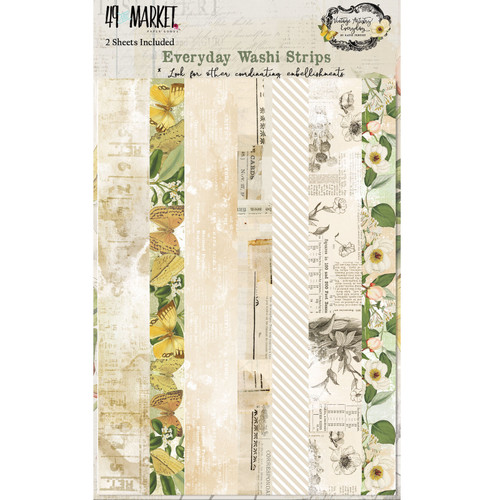 49 and Market Vintage Artistry Everyday Washi Strips