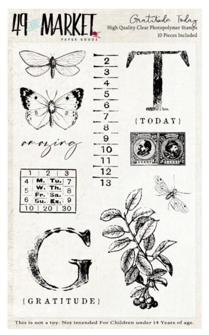 49 and Market Gratitude Today Stamp Set