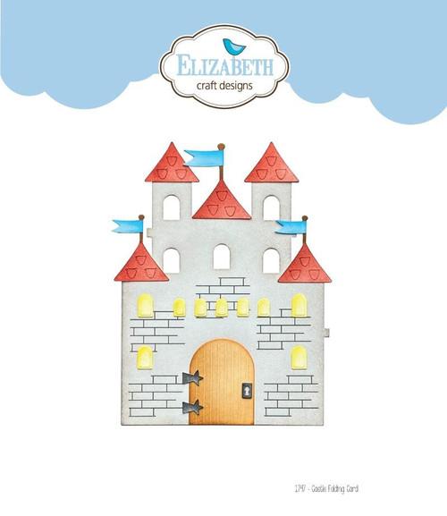 Elizabeth Craft Metal Die Castle Folding Card