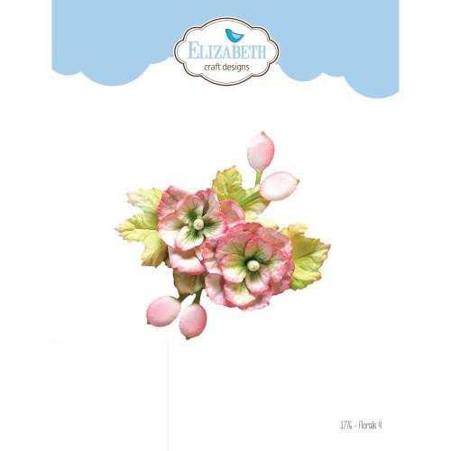 Elizabeth Craft Florals 4 Die Set