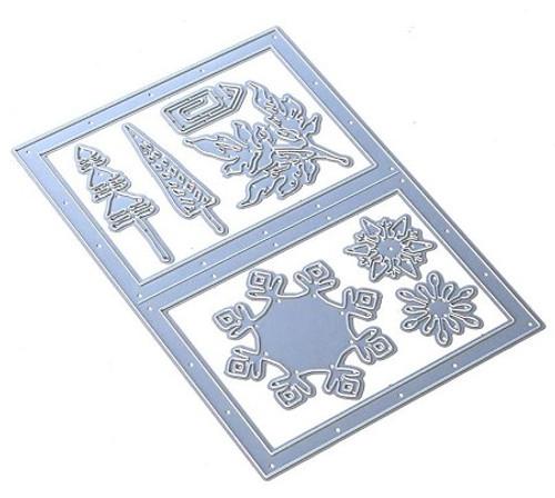 Elizabeth Craft Snowy Windows Die Set