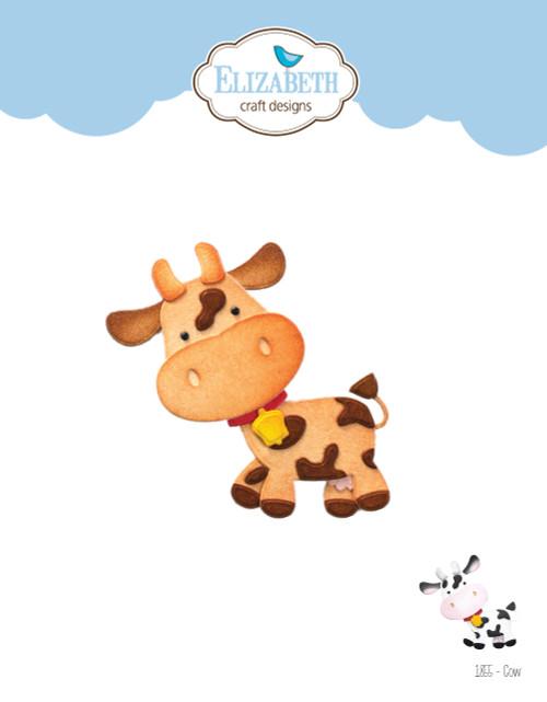 Elizabeth Craft Cow Die Set