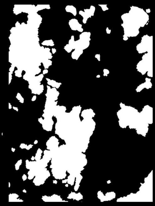 Stamperia Thick Stencil Sea World Rust 2