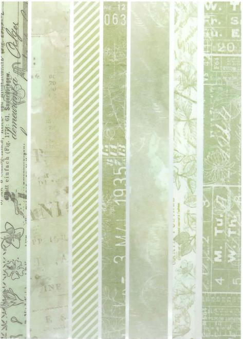 49 and Market Vintage Artistry Sage Washi Strips