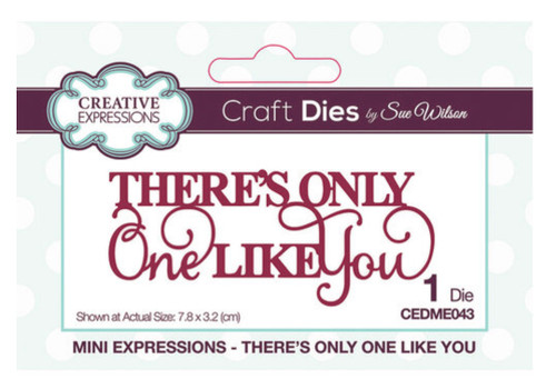 Creative Expressions Mini Expressions - There's Only One Like You