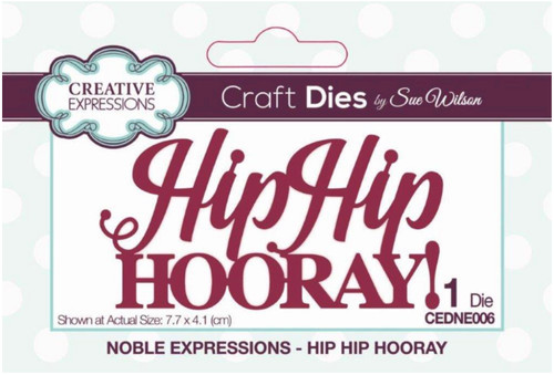 Creative Expressions Mini Expressions - Hip Hip Hooray!