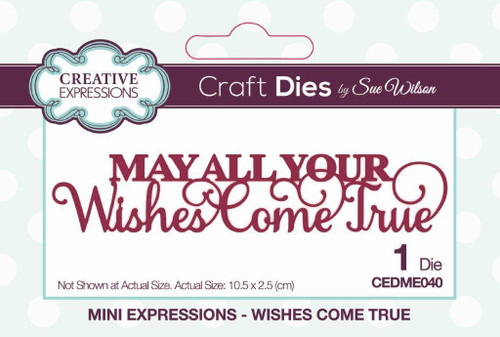 Creative Expressions Mini Expressions - Wishes Come True